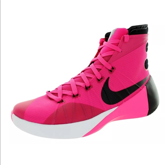 half off 556c9 0b08d Nike Hyperdunk 2015 Think Pink BCA Shoes